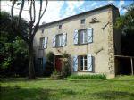 Bien immobilier en French property � vendre: Jolie Maison de Village en Pierres