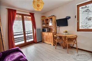 A vendre studio à St Jean d'Aulps station, départs et retours skis aux pieds
