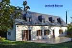 Deux Maisons sur un terrain de 6000m² avec sauna et jacuzzi.
