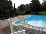 Tres jolie maison de charme, piscine, gite et terain