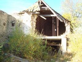 Ruine ancienne maison de village