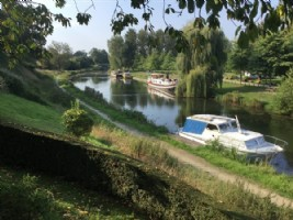 Maison treverien - vue exceptionnelle sur le canal et chemin de halage