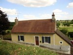 Maison de village, situee au calme, avec jardin d'environ 500 m2 et terrasse, jolie vue