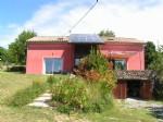 Vente maison au bord du village de Saint-Jean-le-Centenier, sud Ardeche. Villa moderne et spacieuse