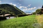 A vendre, parcelle de terrain constructible et entièrement viabilisée à St Jean d'Aulps