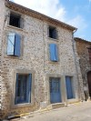 Jolie maison de village en pierres de 110 m² habitables avec 4 chambres.