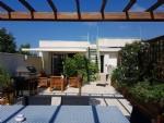 Appartement dans résidence à 30 m de la plage avec 3 chambres, terrasses, vues sur mer/port !