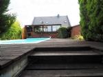 Très spacieuse contemporaine entièrement privatisée 200 m², 5 chambres avec véranda et piscine