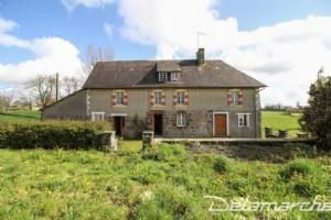 En campagne, maison à rénover sur 1500 m² de terrain
