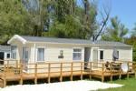 Charmante maison de vacances sur un camping ouvert 12 mois