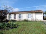Poitou-Charentes: Detached 3 Bed Bungalow Close to Trout Stream