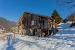 Authentique ferme alpine avec magnifique vue sur la vallée, à rénover de fond en comble.