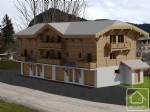 Chalet mitoyen de 3-4 pièces dans un bâtiment neuf de 4 logements seulement