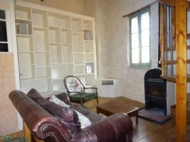 Maison de caractère en pierres 3 pièces + mezzanine