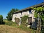 Cottage en pierre rénové, 2 ch, 97 m², dans un endroit isolé, 79420 Vautebis