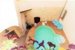 Charmante maison de village avec piscine proche de Béziers